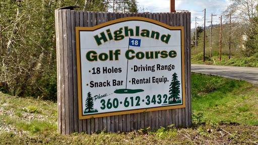 Golf Course «Highland Golf Course», reviews and photos, 2200 1st St, Cosmopolis, WA 98537, USA