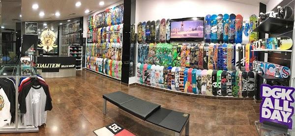 Coalition Skate Shop - Tú tienda profesional de skate, scooter y patines