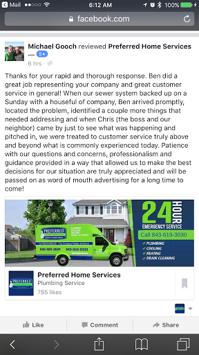 HVAC Contractor «Preferred Home Services», reviews and photos