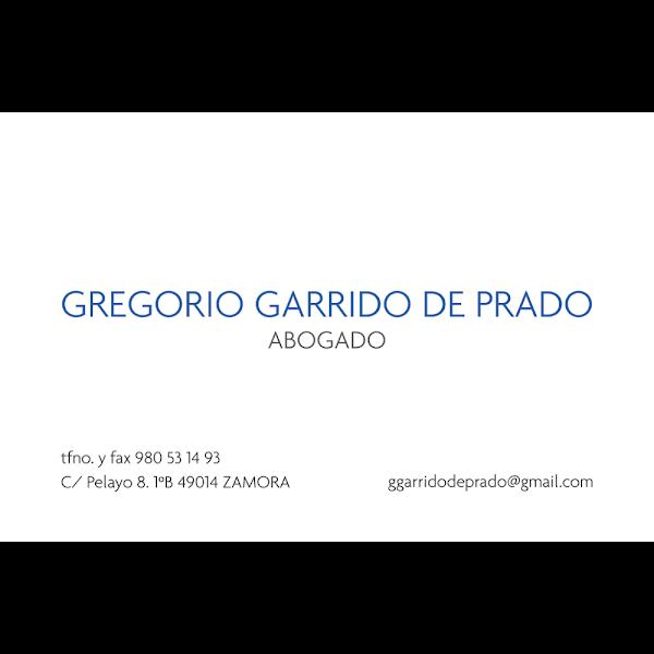 Abogado Gregorio Garrido De Prado