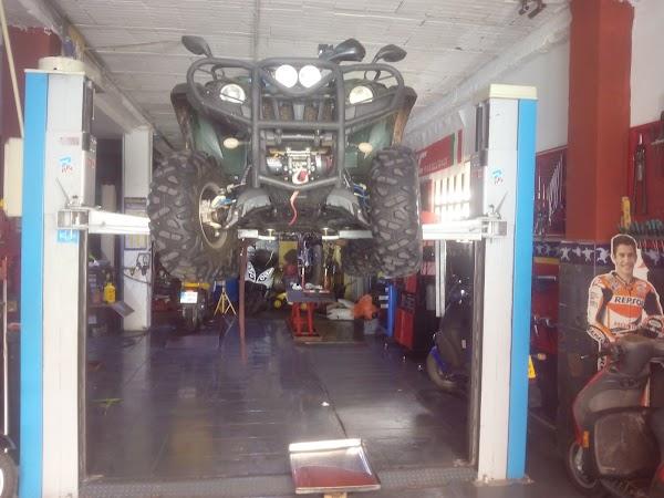 Reparación motos, quad