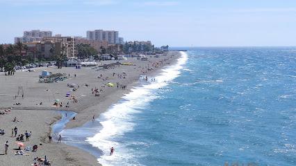Playa De La Guardia,El Peñon De Salobreña