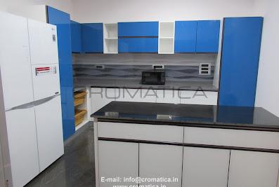 CROMATICA-Stainless Steel & Steel Modular KitchensHindupur