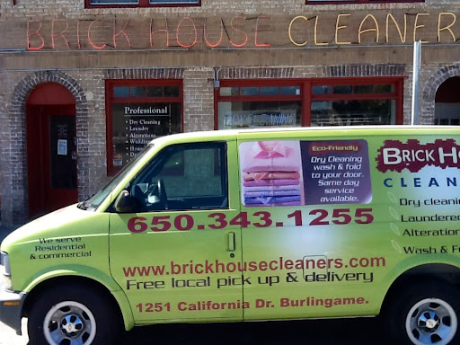 Dry Cleaner «Brick House Cleaners», reviews and photos, 1251 California Dr, Burlingame, CA 94010, USA