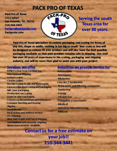 Shipping Service «Pack Pro of Texas», reviews and photos