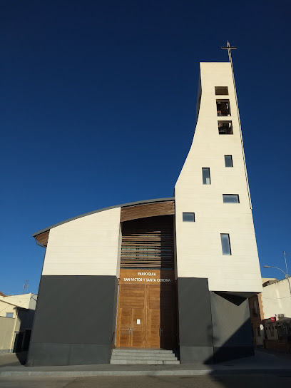 Parroquia San Víctor y Santa Corona