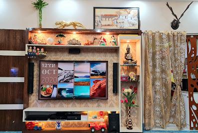 Nj PLY BAZAAR complete interior designGaya