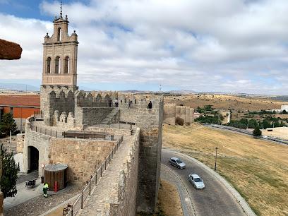 Acceso muralla. Puerta del Carmen