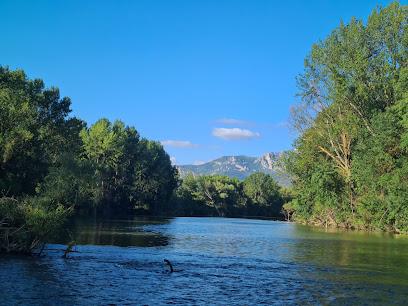 Rio Ebro en Haro