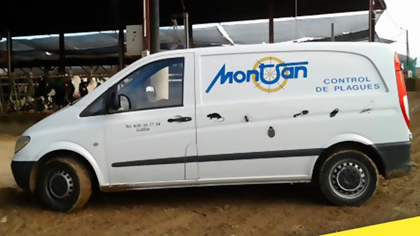 MONTSAN S.C.P. Control de plagas, Fumigación