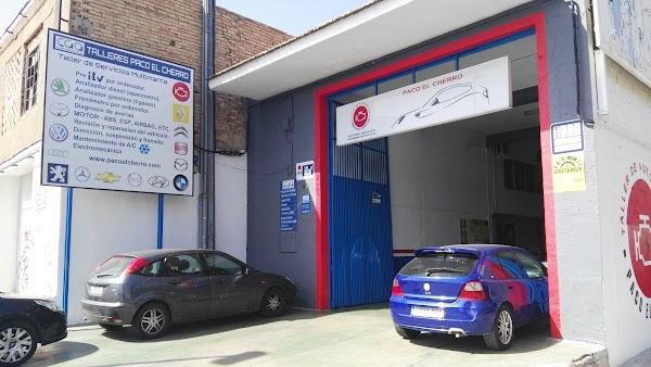 Taller mecánico en Murcia - Talleres Paco El Cherro  SPG Talleres