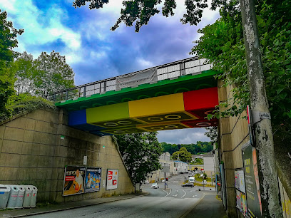 Lego Brick Bridge