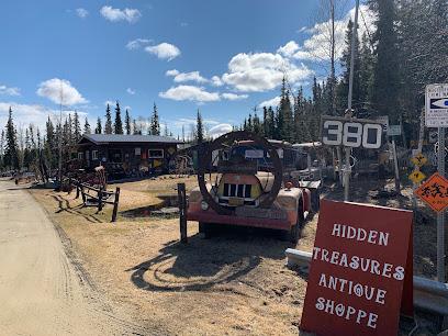 Antique store Hidden Treasures Alaska.