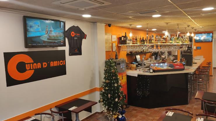 Restaurante Cuina D'Amics Carrer d'Àvila, 19, 08005 Barcelona