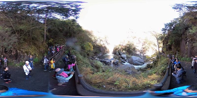 昇仙峡遊歩道 入口