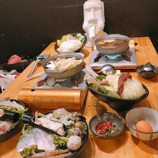 异家鍋物與一家青果 -(蔬菜自助吧 湯頭蔬果熬煮 有機葉菜販售)