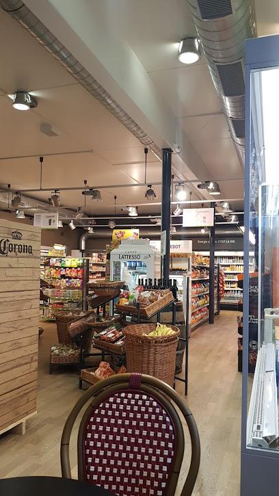 Supermarket avec