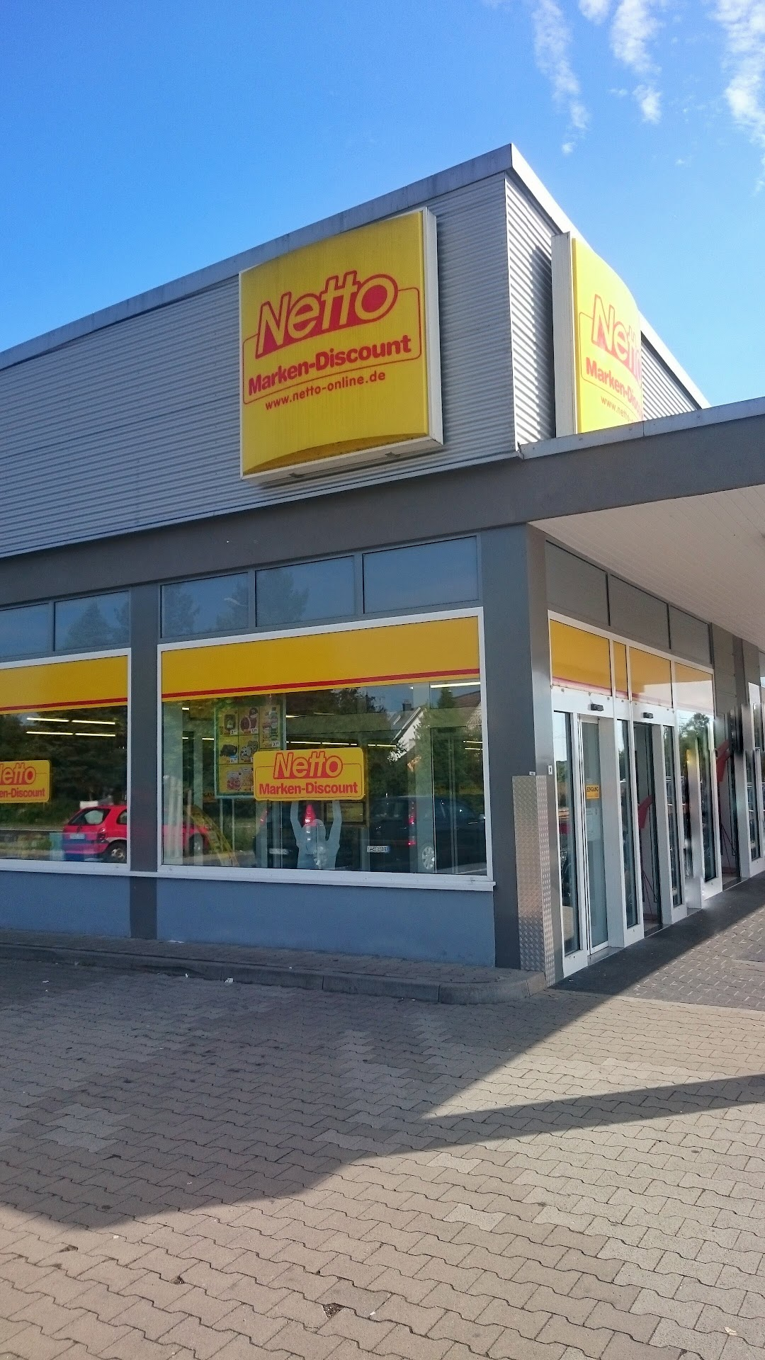 Netto Filiale In Der Stadt Babenhausen