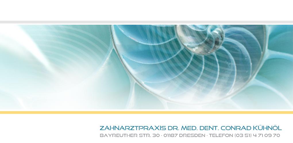 Zahnarzt Dresden Praxis Dr. med. dent. Conrad Kühnöl