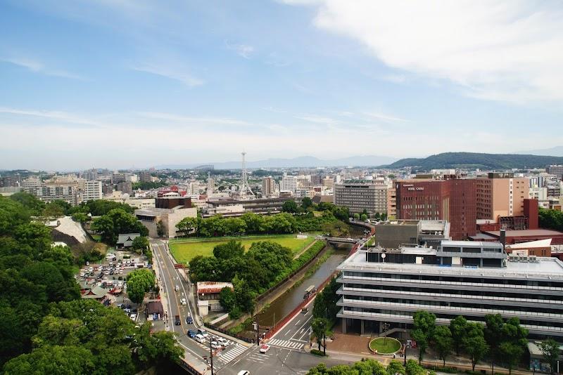 熊本市役所無料展望台