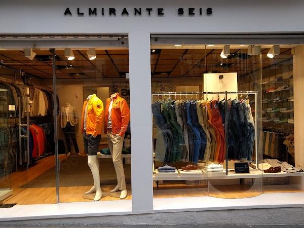 ALMIRANTE SEIS Madrid tienda multimarca oficial Jacob Cohn, Premiata, Blauer  Herno
