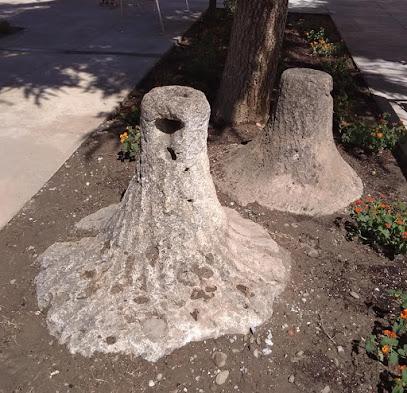 Piedras de molino de época Romana.