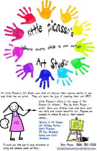 École de Peinture Little Picasso's Art Studio à McLeods (NB) | CanaGuide