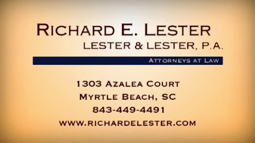 Lester & Lester P.A., Attorneys at Law, 1303 Azalea Ct, Myrtle Beach, SC 29577, Real Estate Attorney