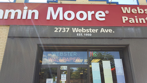 Wallpaper Store «Webster Wallpaper Paint & Blinds», reviews and photos, 2737 Webster Ave, Bronx, ...