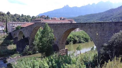 Pont Vell de Castellbell i el Vilar
