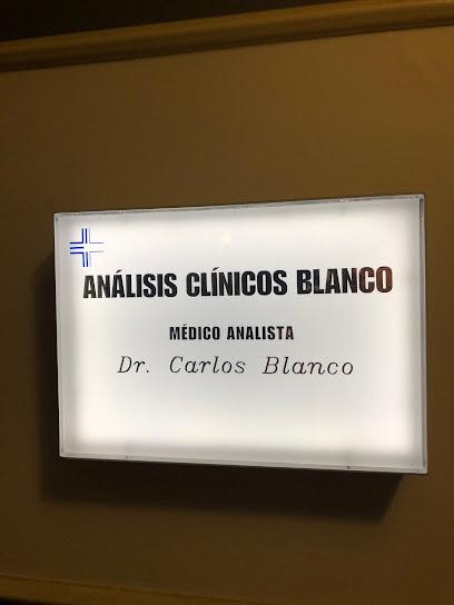 Análisis Clínicos Blanco