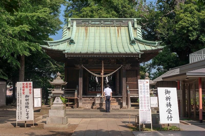 篠原 八幡 神社
