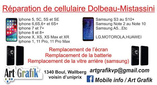 École de Peinture Mobile Info / Art Grafik à Dolbeau-Mistassini (QC) | CanaGuide