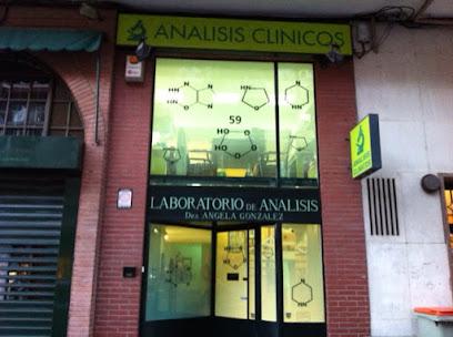 Laboratorio de análisis clínicos de la Dra. González Pérez