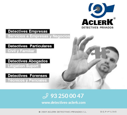 Detectives Privados ACLERK