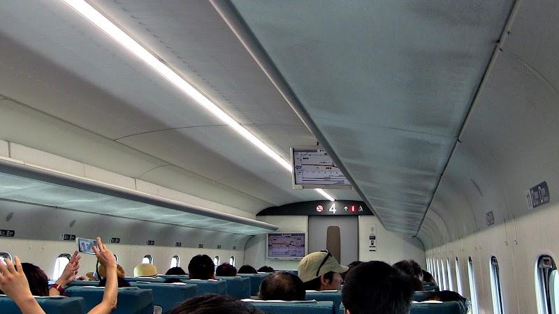 リニア体験乗車(参加者入口)