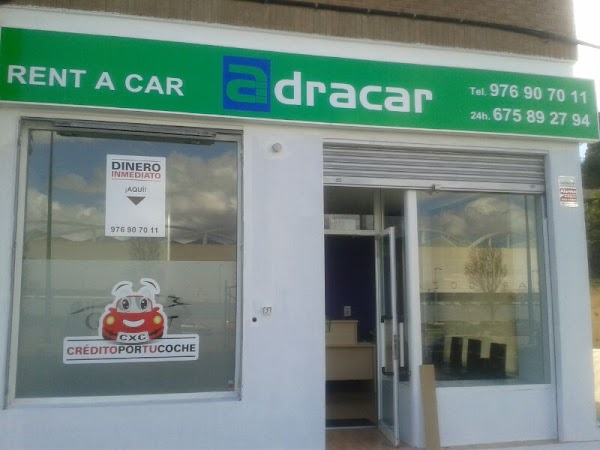 ADRACAR - Alquiler de vehículos y furgonetas en Zaragoza