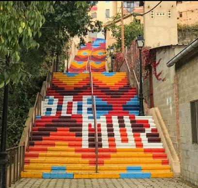 Escalinatas de Ademuz