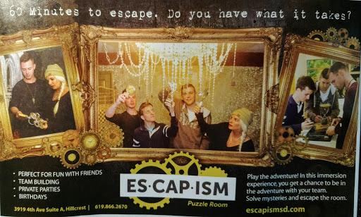 Amusement Center «Escapism Puzzle Room», reviews and photos, 3919 Fourth Ave A, San Diego, CA 92103, USA