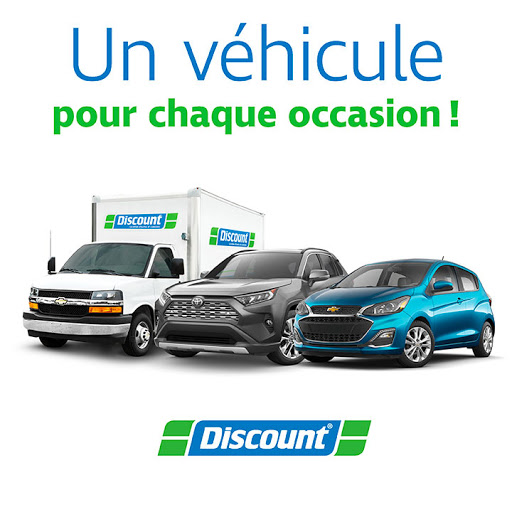 Agence de location automobiles Discount Location d'autos et camions à Sainte-Julie (QC) | AutoDir