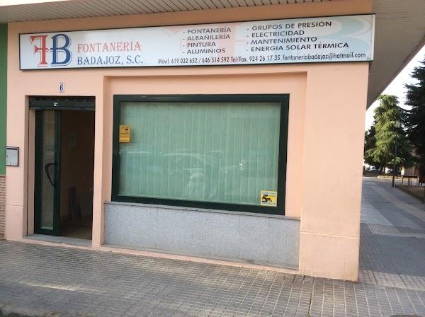 Fontanería ,Desatascos ,Fontaneros.Badajoz.