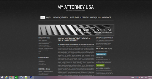 Immigration Attorney «Alexander J. Segal ESQ. NYC Immigration Attorney», reviews and photos