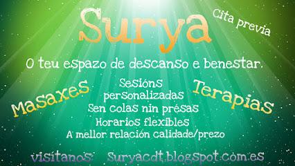 imagen de masajista Surya Centro de Terapias