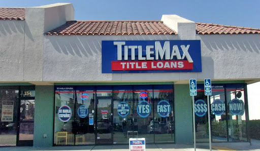 TitleMax Title Loans, 150 W 40th St, San Bernardino, CA 92407, USA, Loan Agency