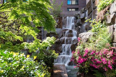 UPS Waterfall Garden Park in Seattle WA