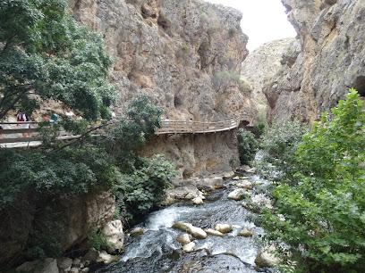 Pasarela de la Cerrada del rio Castril
