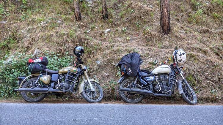 bike on rent dehradun, avenger, bullet, duke
