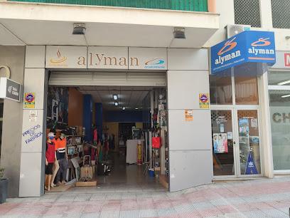 Alyman publicidad, vestuario e imprenta en Calpe