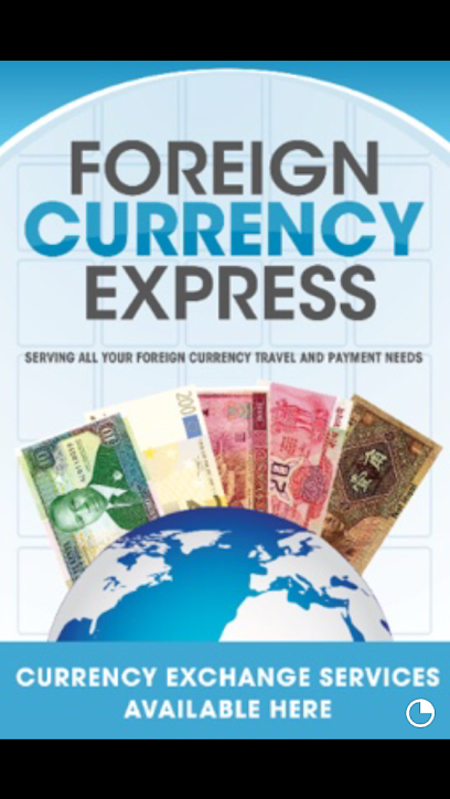 Currency exchange service Foreign Currency Express (Inside FUNCENTER)