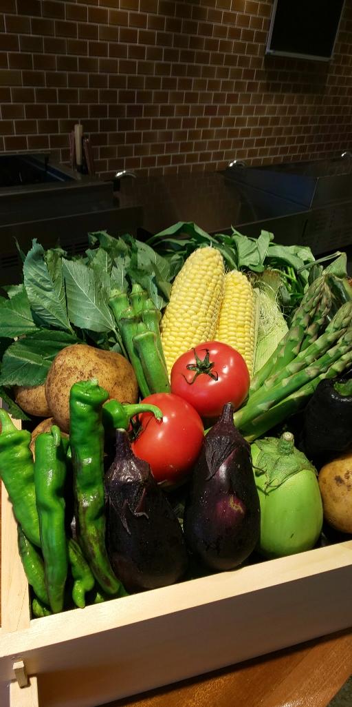 鉄板焼と野菜へいきゅう